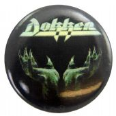 Dokken - 'Tooth and Nail' Button Badge